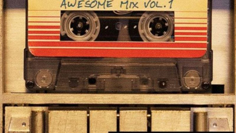 Illustration for article titled Peter Quill's Awesome Mix Vol. 1 soon to be an actual mixtape