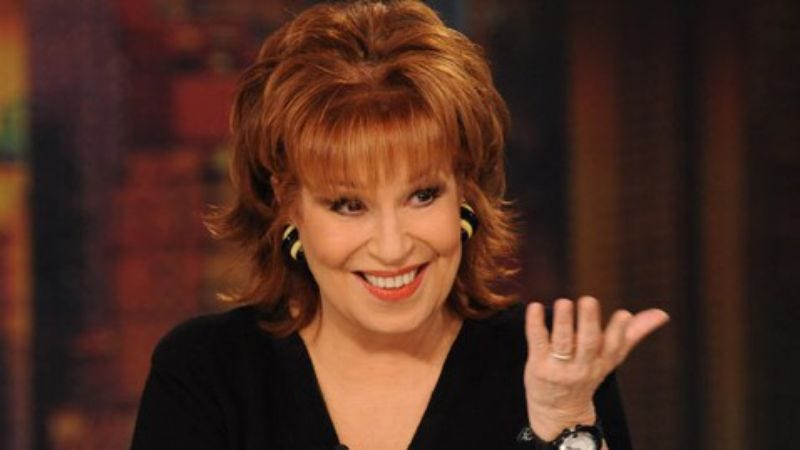 Joy Behar on The View