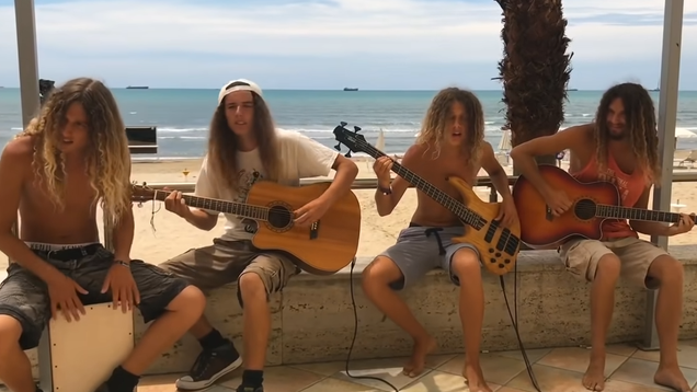 Modern-day Hanson arrives in the form of beach-loving brothers who play Alice In Chains