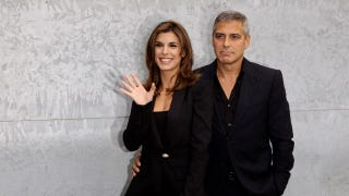 Illustration for article titled George Clooney's Ex Says They Had A 'Father-Daughter' Relationship