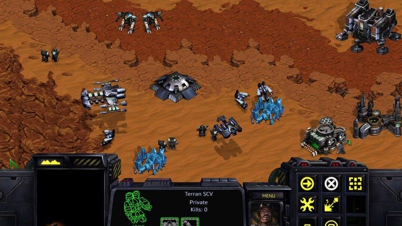 Illustration for article titled Blizzard to rerelease StarCraft with fancy new graphics