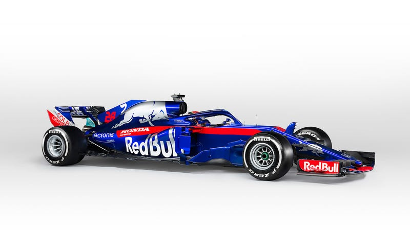 The new Toro Rosso Formula One car.
