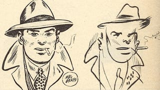 Illustration for article titled Famous Comic Strip Artists Draw Their Characters While Blindfolded