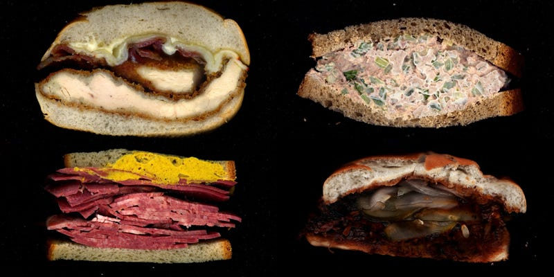 Illustration for article titled The Genius Behind Scanwiches.com's Juicy Sandwich Porn