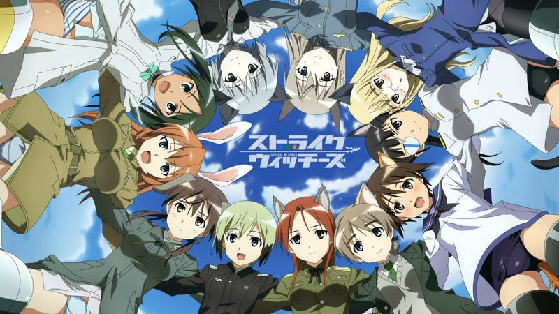 Illustration for article titled Brave Witches Anime will premier in October 5