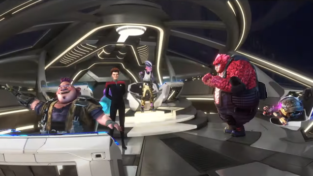 Star Trek: Prodigy s New Trailer Asks  What Do Kids Need With a Starship?