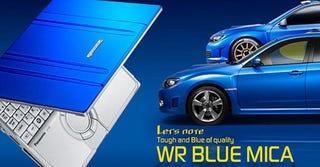 Illustration for article titled Panasonic CF-W7 Gets Subaru Impreza Styling