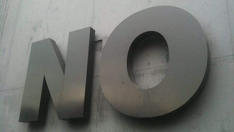 Illustration for article titled Eight Strategies for Politely Saying No