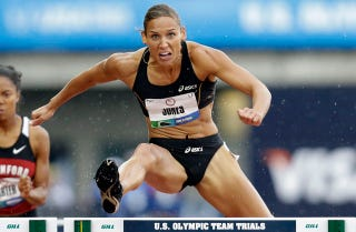 Illustration for article titled Lolo Jones's Hurdling Excellence Explained In One Cool Visualization