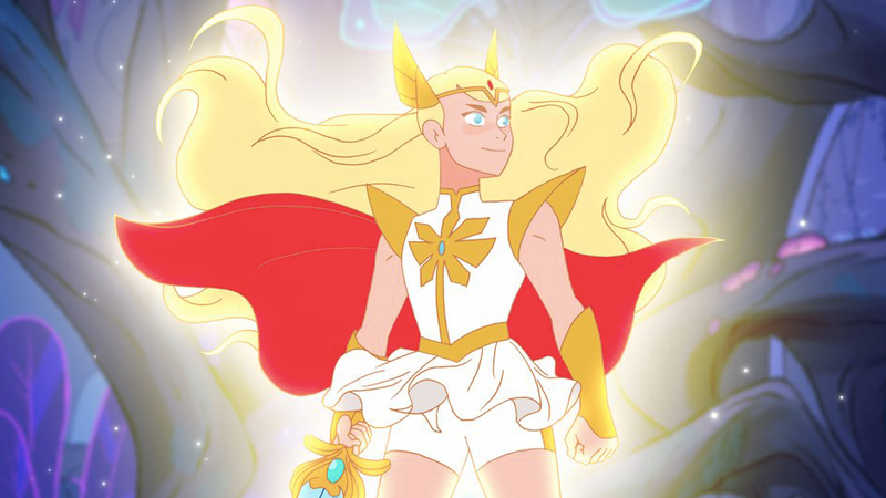 Princess Adora in She-Ra and the Princesses of Power.