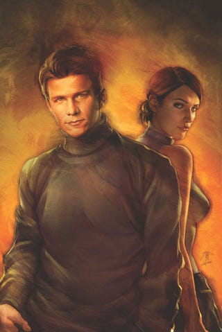 """Illustration for article titled Buffy's Wishy-Washiest Boyfriend Makes a Comic Book Comeback in """"Riley One-Shot"""""""