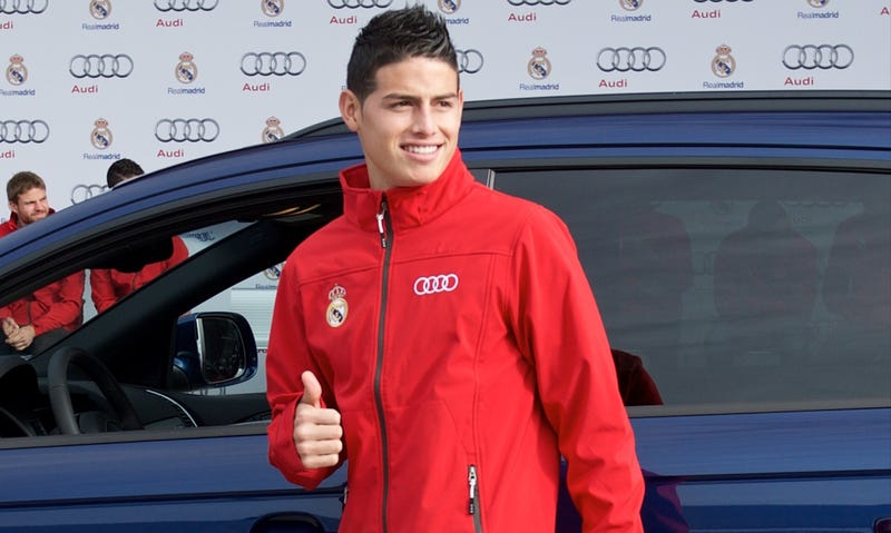 Illustration for article titled Report: James Rodríguez Leads Cops On 124 MPH Chase
