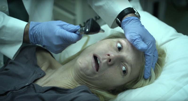 The scariest scene from the movie Contagion.