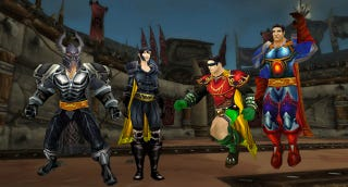 Illustration for article titled Here's How You Bring Superman and Batman into World of Warcraft