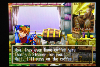 Illustration for article titled Remember When Japanese Games Replaced Alcohol With Coffee?