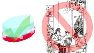 Illustration for article titled Vibrating Automatic Soap: One Less Barrier to Cleanliness