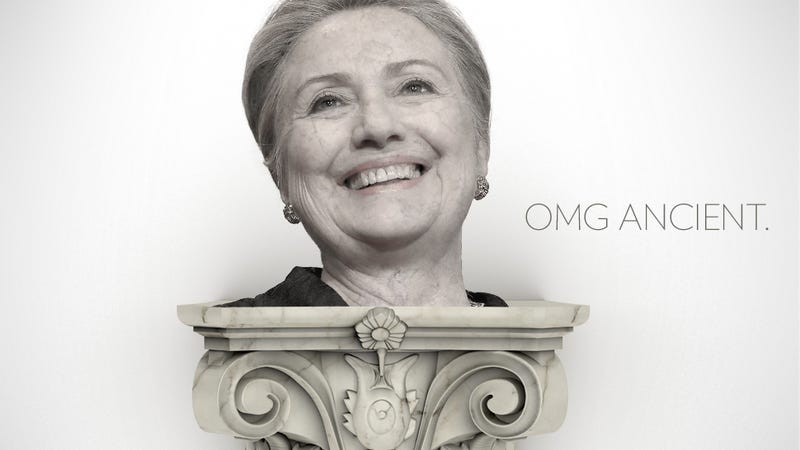 Illustration for article titled 101 Things Older Than Hillary Clinton