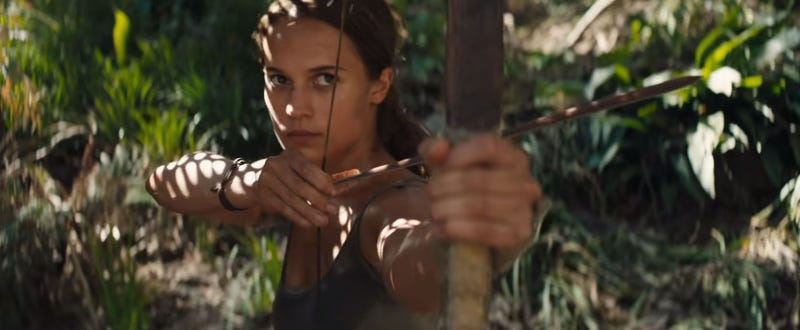 Illustration for article titled Here's The First Trailer For The New Tomb Raider Movie