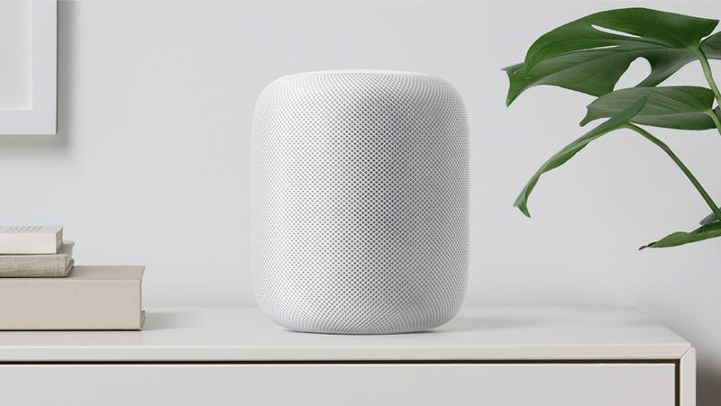 Apple speaker 'an echo of its competitors'