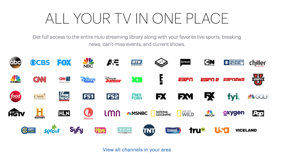 Hulu Live TV Is the Best Cordcutter Service Yet, But It