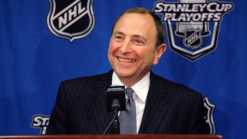 Illustration for article titled Gary Bettman Surprised By Popularity Of NHL Lockout