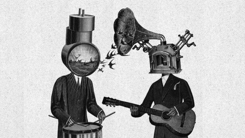 """Illustration for article titled Neutral Milk Hotel announces its last tour """"for the foreseeable future"""""""