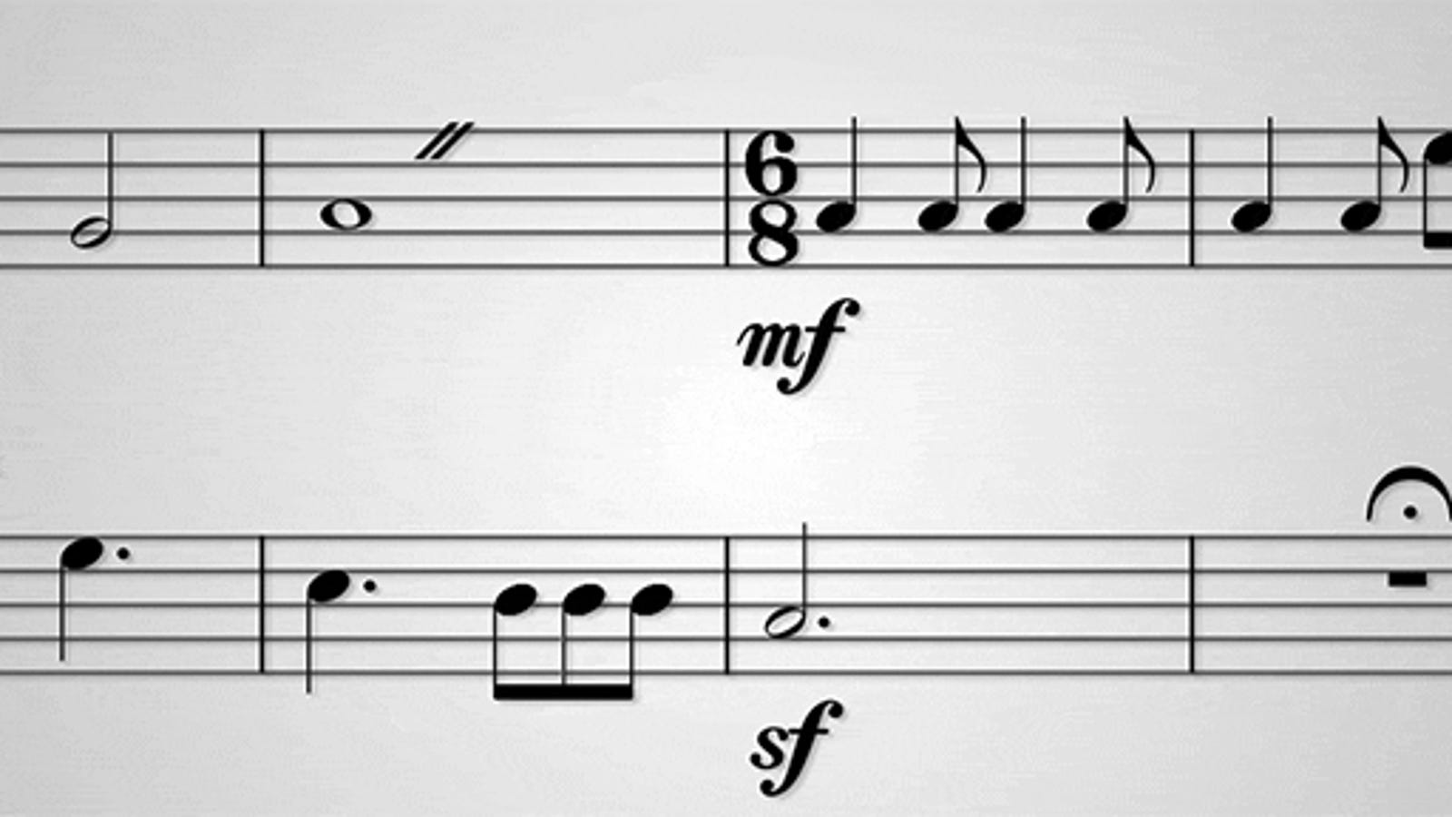 Fun Video Hilariously Explains What All Those Random Symbols on Sheet Music Mean