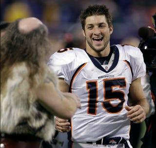 Illustration for article titled Tim Tebow Is Making Me Question My Atheism