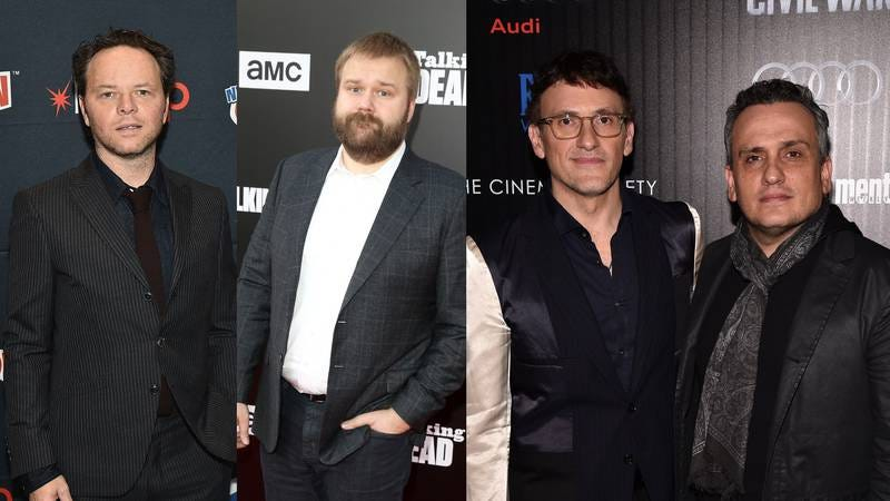 (Photos: Theo Wargo/Getty Images, Joe Scarnici/Getty Images for AMC, Bryan Bedder/Getty Images for FIJI Water)