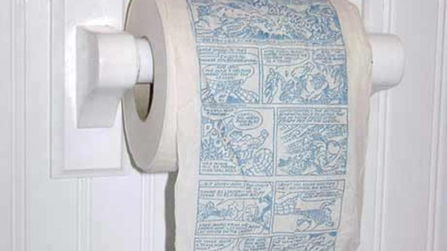 This Hulk toilet paper comic is the apex of bathroom reading