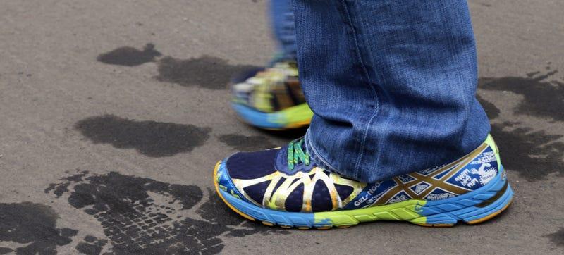 Illustration for article titled Juan Pablo Montoya Has The Wildest Shoes In Motorsport