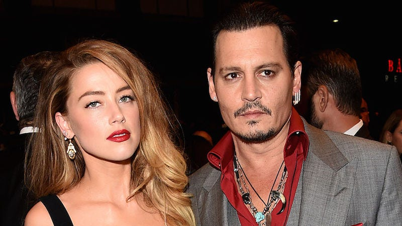 Illustration for article titled Johnny Depp Declined to Comment on His Divorce in a Way That Spoke Volumes