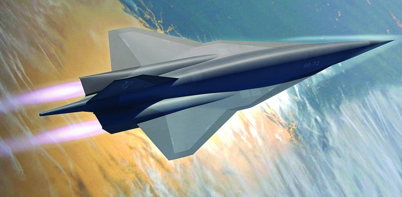 Illustration for article titled Just Because Lockheed Says They Can Build A Mach 6 Spy Plane Doesn't Mean We Need One