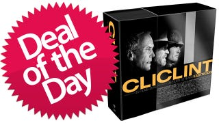 Illustration for article titled 35 DVDs of Menacing Clint Eastwood Glares Are Your Deal of the Day