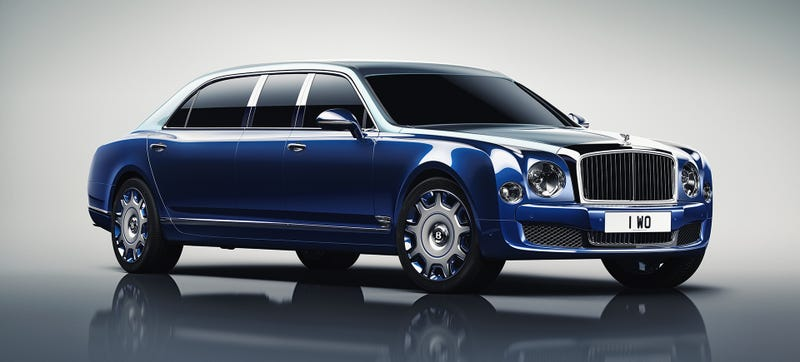 Illustration for article titled Bentley Made A Limo