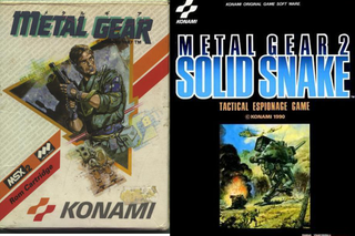 Illustration for article titled My Backlog -- Metal Gear 1 vs. Metal Gear 2