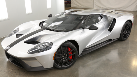 The Ford Gt Competition Series Looks Like A No Frills Ferrari Killer