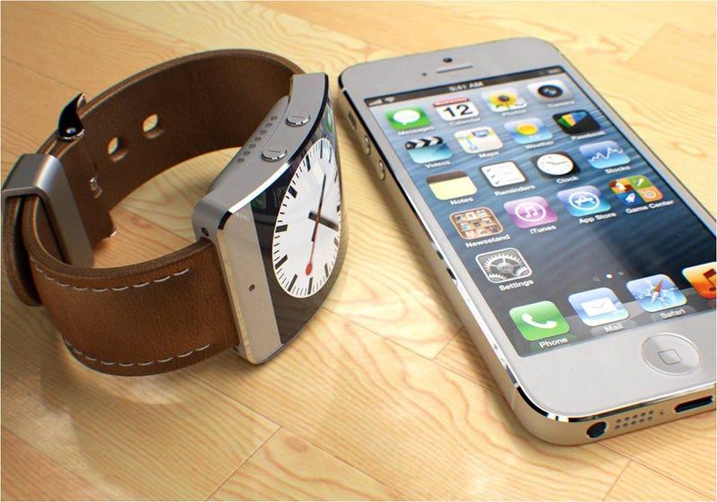 Illustration for article titled El iWatch de Apple podría ser curvado y recargarse con luz solar