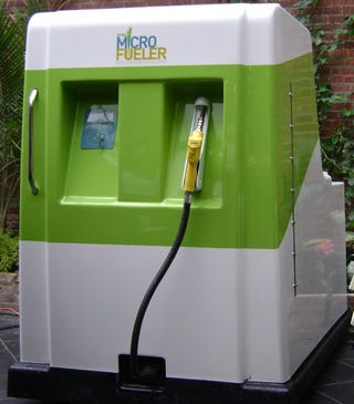 Illustration for article titled MicroFueler Home Ethanol Pump Unveiled, Ready For Pre-Orders