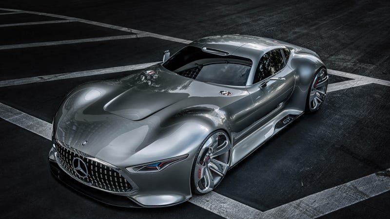 Illustration for article titled The Mercedes AMG Vision Gran Turismo Is The Supercar Of Gran Turismo 6