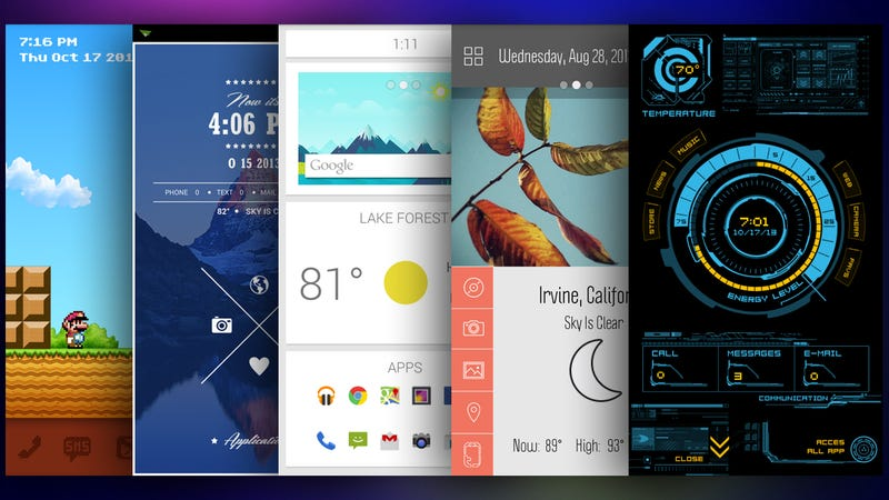 The best themer themes to refresh and customize your android phone themer is a great tool for completely customizing your home screen with a few taps but which themes are the best which ones will really make your phone voltagebd Choice Image