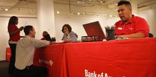 Bank of America may oust 40,000 employees. (Getty)
