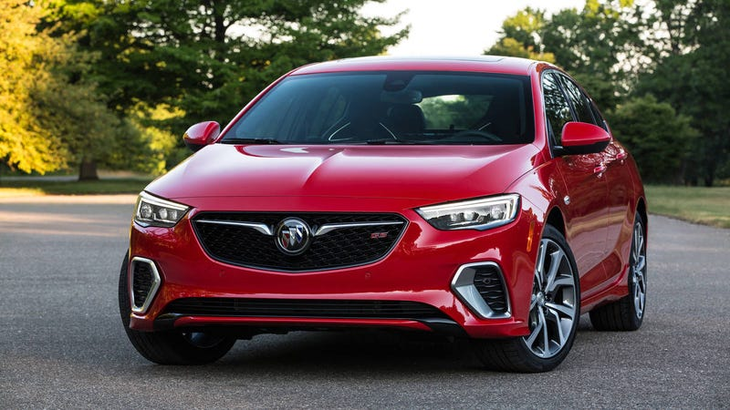 Illustration for article titled The 2018 Buick Regal GS starts at $40,000