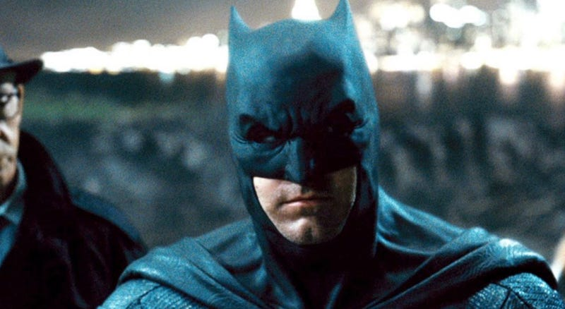 No more Ben Affleck as Batman, but the new movie is coming.