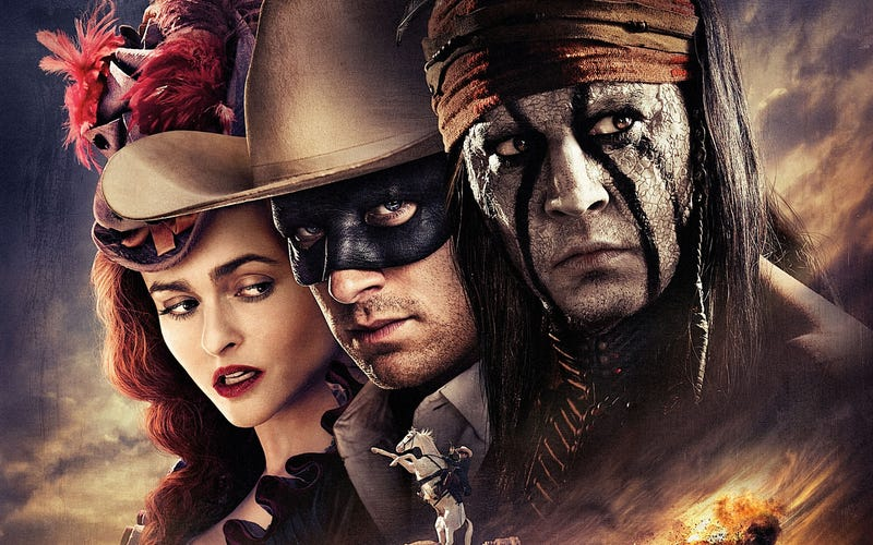 Illustration for article titled Lone Ranger is Johnny Depp's tribute to shitty superhero origin films