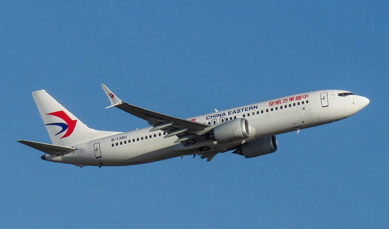 A Boeing 737 MAX 8 of China Eastern Airlines (N509FZ)