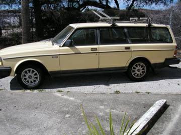 Wagon Wednesday NPCP $1,200 86 Volvo 240 DL Wagon manual