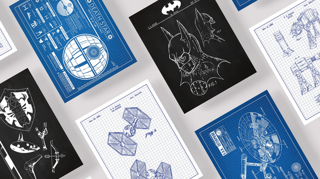 Get a Little Geeky With These $13 Sci-Fi Patent Prints