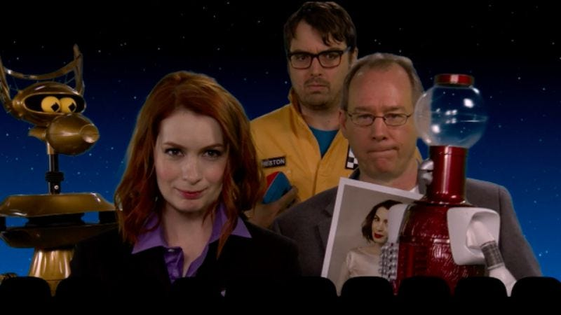 Illustration for article titled Joel Hodgson reveals his picks for MST3K's new Mad and the 'Bots