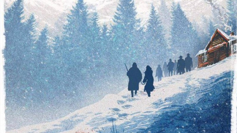 Illustration for article titled New poster, Ennio Morricone score revealed at The Hateful Eight Comic-Con panel